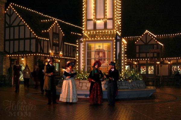 Busch Gardens Christmas Town Carolers