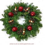Holiday Wreath Giveaway