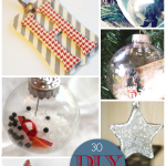 30 Gorgeous DIY Ornaments #Christmas #Ornaments #crafts #DIY
