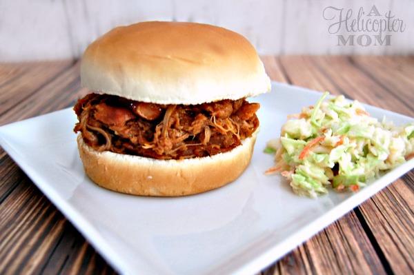 Byron's Pork BBQ Sandwich