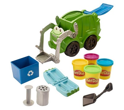 PLAY-DOH Trash Tossin' Rowdy The Garbage Truck Playset