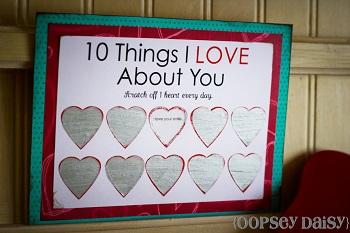 Valentine Scratch Off Card