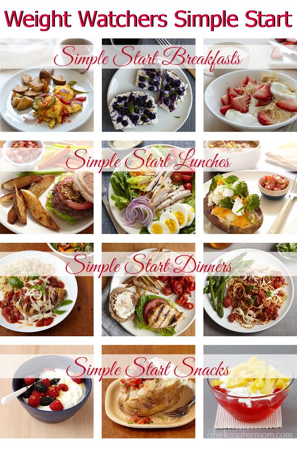 Weight Watchers Simple Start Power Foods List