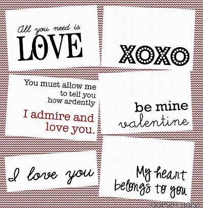 Pride and Prejudice Valentines