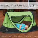 Peapod Plus Travel Bed Giveaway at A Helicopter Mom $120