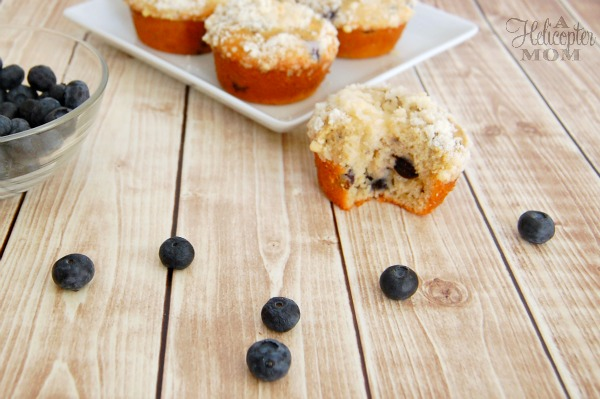 Ultimate Blueberry Muffins with Crumble Topping