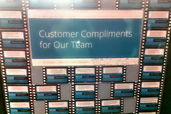 Customer Compliments for Our Team