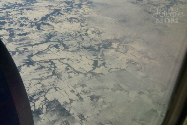 Flying Over the Frozen US