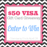 $50 VISA Giveaway on A Helicopter Mom