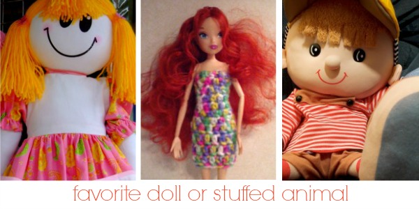 Favorite Doll or Stuffed Animal