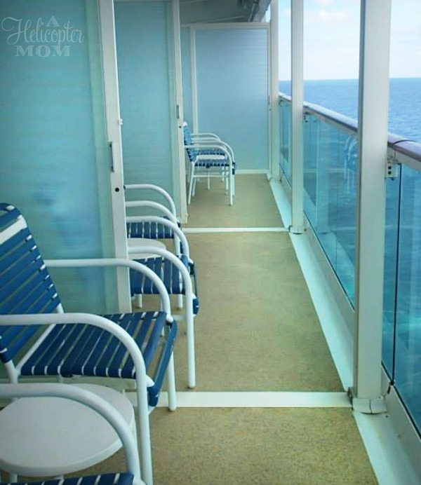 Royal Caribbean Shared Balcony Opened