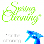 Spring Cleaning for the Cleaning-Challenged #Cleaning #Spring