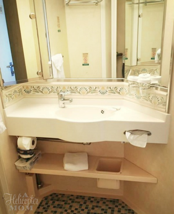 Superior Ocean View Stateroom with Balcony Bathroom Royal Caribbean