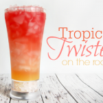 Tropical Twisters On the Rocks #Drink #Recipe #Cocktail #Mocktail