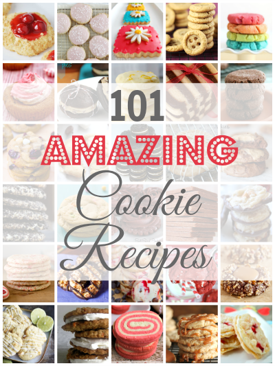101 Awesome Cookie Recipes #Recipe #Cookies