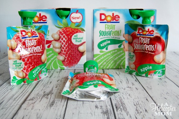 DOLE Fruit Squish'ems All Natural Fruit