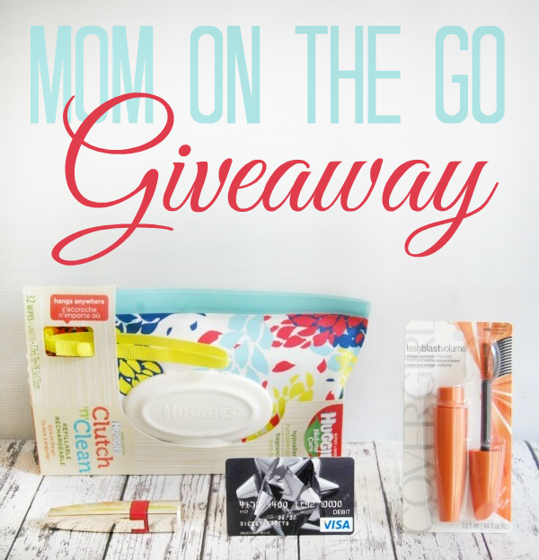 Mom on the Go Giveaway Prize Package