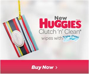 Huggies Clutch 'n' Clean