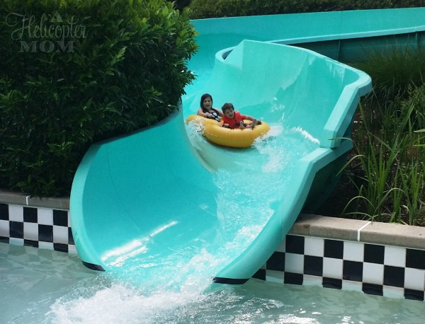 Cow-A-Bunga Water Slide at Water Country USA