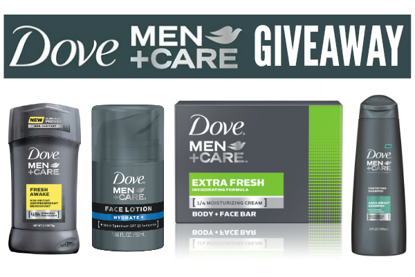 Dove Men+Care Giveaway on A Helicopter Mom