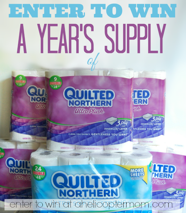 Giveaway - Enter to Win a Year's Supply of Quilted Northern