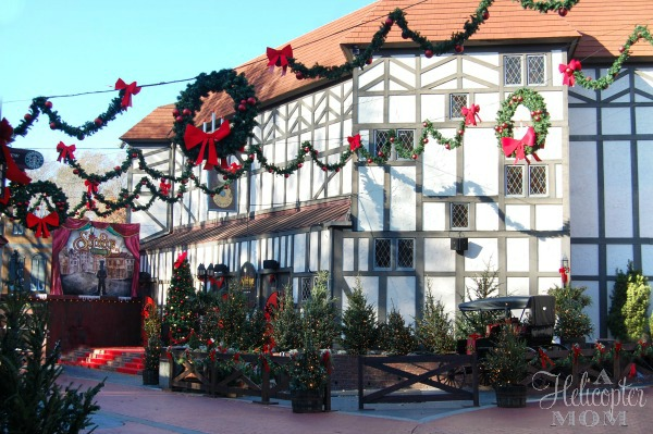 Beautiful Christmas Town Busch Gardens