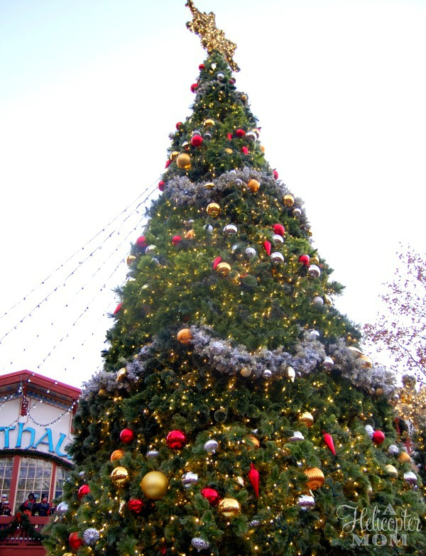 Christmas Town Lighting Ceremony - Busch Gardens Williamsburg