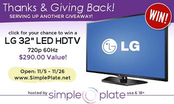 LED TV Giveaway