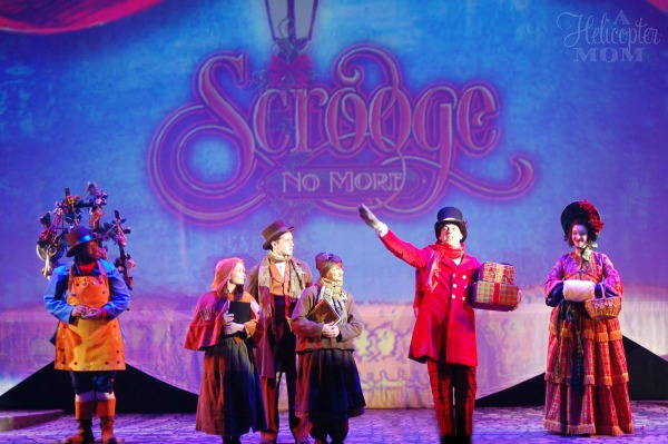 Scrooge No More - Christmas Town Busch Gardens