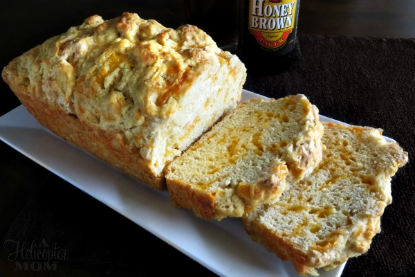 Cheddar Beer Bread - Easy to make and tastes amazing!