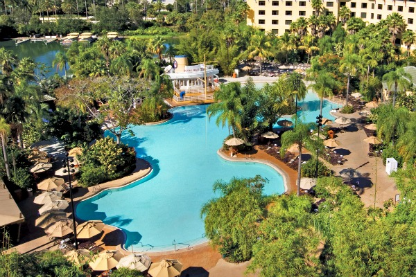Gorgeous Loews Royal Pacific Resort Pool