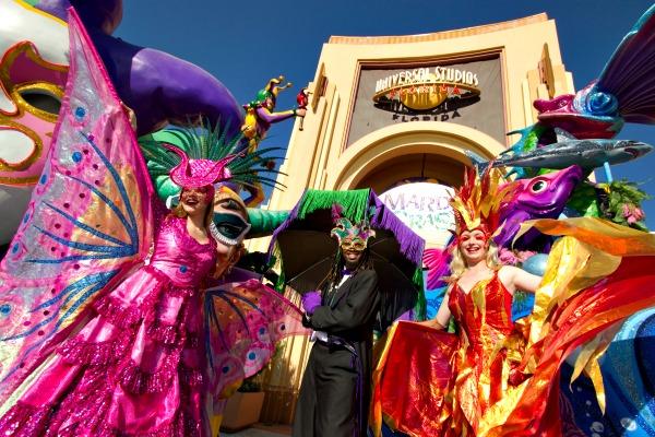 Universal Orlando's Mardi Gras Celebration