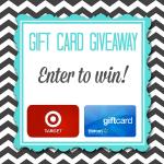 $20 Target or Walmart Gift Card Giveaway