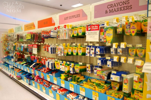 Back-to-School Shopping Easy as A, B, C - A Helicopter Mom