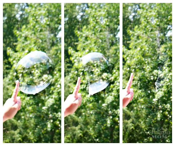 Bubble Popping - Panasonic LUMIX G7 4K