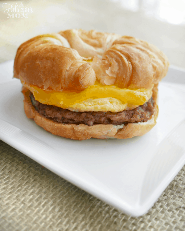 Sausage Egg And Cheese Sandwich Recipe sausage egg and cheese ...