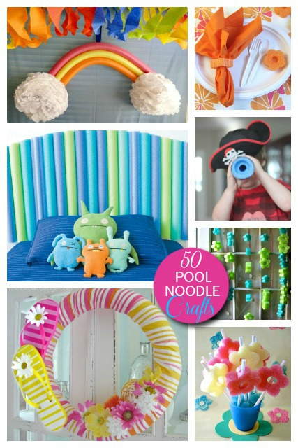 50 Cool Things To Do With Pool Noodles Diy Pool Noodle