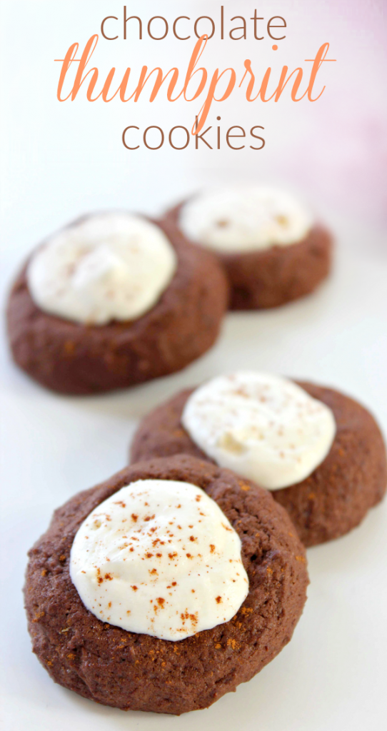 Chocolate Thumbprint Cookies Recipe | A Helicopter Mom