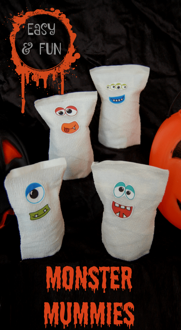 Easy Halloween Treats for Kids - Monster Mummies Treats