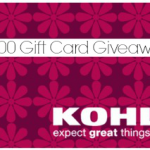 A Kohl's Christmas – $200 Gift Card Giveaway