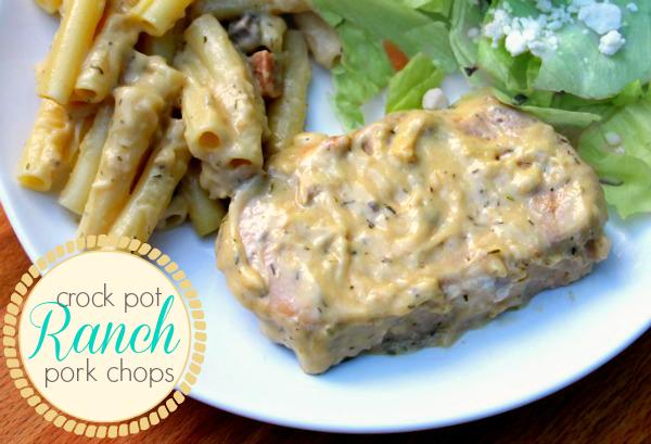 Ranch pork chop recipes easy