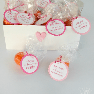 Free Valentine Printable - Be My Cutie Tagq