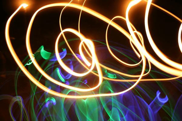 Top 10 Ways to Keep Kids Active In Winter - Glow in the Dark Dancing