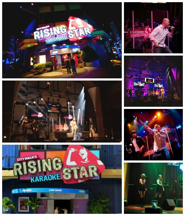 Rising Star Karaoke Club at CityWalk Universal Orlando