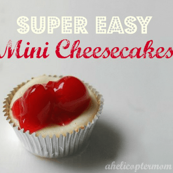 Easy Mini Cherry Cheesecakes Recipe