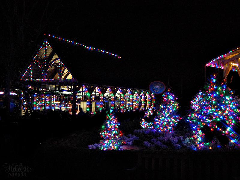 Our Family Trip Busch Gardens Christmas Town A