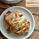 Easy Cinnamon Roll Apple Dumplings Recipe