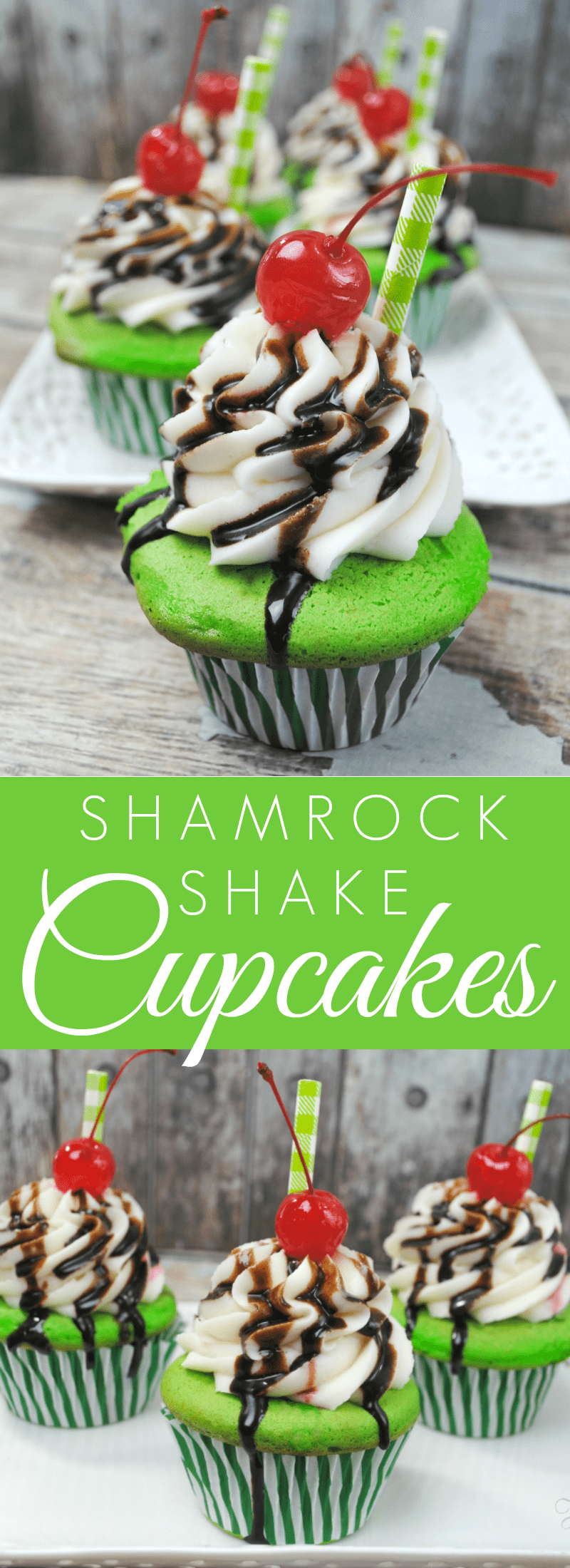 Try this easy Shamrock Shake recipe – the mint extract mixed with vanilla ice cream makes for a super refreshing and very yummy dessert! Easy Mint Shamrock Shake. 2 cups vanilla ice cream 1/2 cup milk 1/2 teaspoon mint extract 1/2 teaspoon vanilla extract.