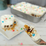 Easy Cosmic Brownie Ice Cream Cake Recipe