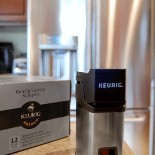 GE Cafe Fridge with Keurig Brewing System
